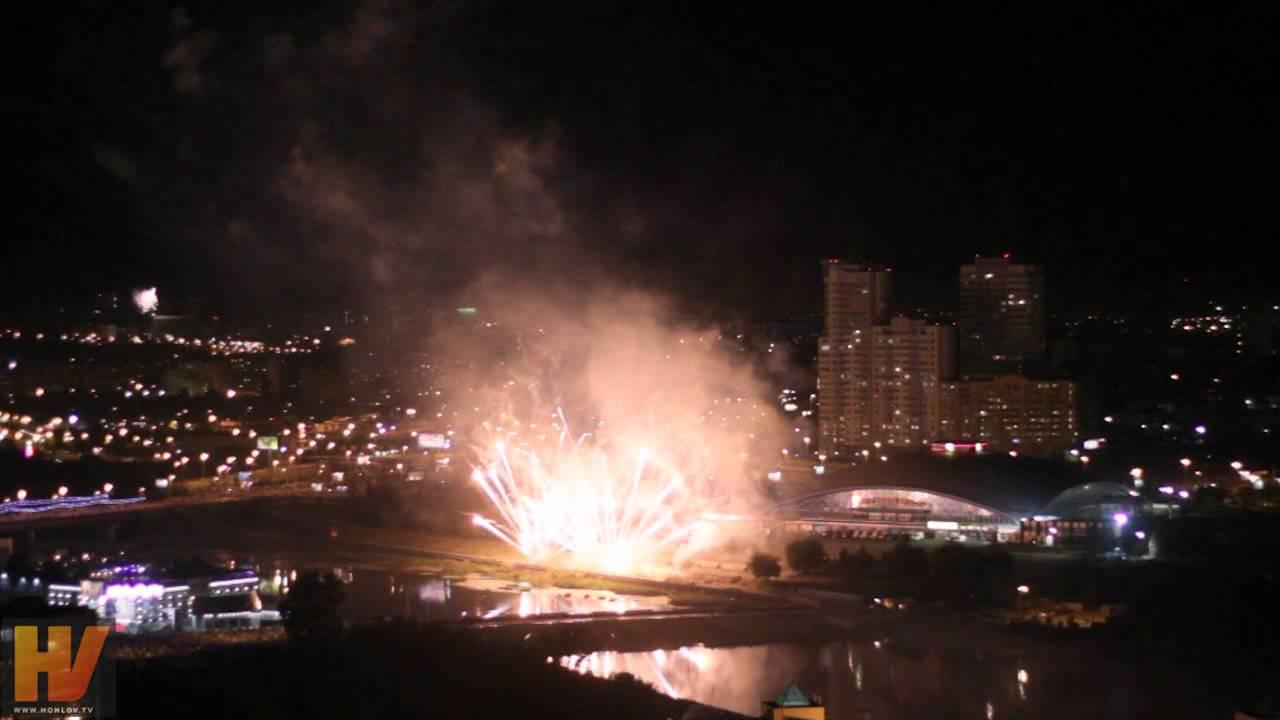 Фестиваль фейерверков в Челябинске